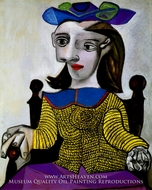 Le Chandail Jaune (Dora) by Pablo Picasso (inspired by)