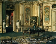 Le Grand Salon, Musee Jacquemart-Andre by Walter Gay
