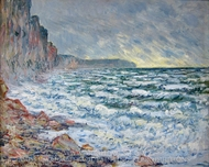 Le Havre painting reproduction, Claude Monet