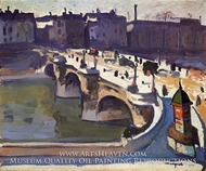 Le Pont-Neuf painting reproduction, Albert Marquet