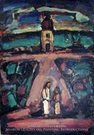 Legendary Landscape painting reproduction, Georges Rouault