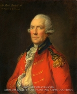 Lieutenant Colonel Paul Pechelle by Thomas Gainsborough