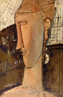 Lola de Valence by Amedeo Modigliani