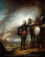 Louis-Marie, Vicomte de Noailles painting reproduction, Gilbert Stuart