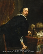 Lucas van Uffel by Sir Anthony Van Dyck