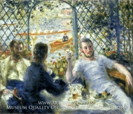 Lunch at the Restaurant Fournaise (The Rowers' Lunch) by Pierre-Auguste Renoir