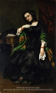 Madame Auguste Cuoq by Gustave Courbet