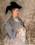 Madame Edouard Manet by Edouard Manet