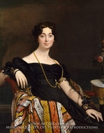 Madame Jacques-Louis Leblanc by Jean Auguste Dominique Ingres