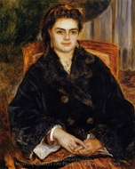 Madame Marie Octavie Bernier painting reproduction, Pierre-Auguste Renoir