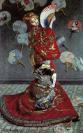 Madame Monet in a Japanese Costume (La Japonaise) by Claude Monet