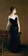 Madame Pierre Gautreau (Portrait of Madame X) painting reproduction, John Singer Sargent