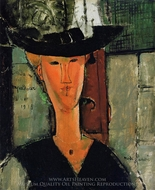 Madame Pompadour painting reproduction, Amedeo Modigliani