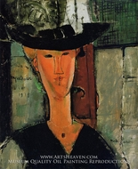 Madame Pompadour by Amedeo Modigliani