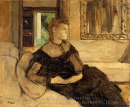 Madame Theodore Gobillard painting reproduction, Edgar Degas