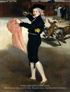 Mademoiselle Victorine Meurent in the Costume of an Espada by Edouard Manet