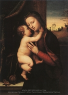 Madonna and Child painting reproduction, Mariotto Albertinelli