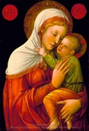 Madonna and Child painting reproduction, Jacopo Bellini