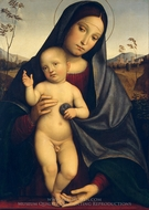 Madonna and Child painting reproduction, Francesco Francia