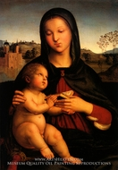 Madonna and Child painting reproduction, Raphael Sanzio