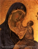 Madonna and Child painting reproduction, Duccio Di Buonisegna