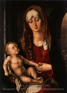Madonna and Child in front of an Arch painting reproduction, Albrecht Durer