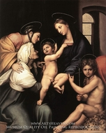 Madonna dell Impannata painting reproduction, Raphael Sanzio