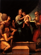 Madonna della Sedia painting reproduction, Raphael Sanzio
