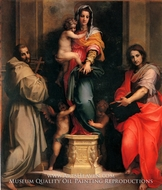 Madonna of the Harpies painting reproduction, Andrea Del Sarto