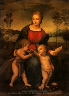 Madonna with the Goldfinch painting reproduction, Raphael Sanzio