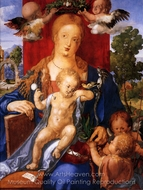 Madonna with the Siskin painting reproduction, Albrecht Durer