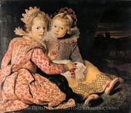 Magdalena and Jan-Baptist de Vos painting reproduction, Cornelis De Vos