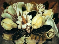 Magnolias painting reproduction, Frida Kahlo