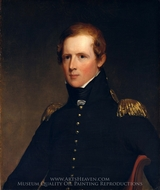 Major John Biddle painting reproduction, Thomas Sully