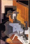 Man from Touraine by Juan Gris
