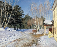 March by Isaak Levitan
