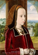 Margaret of Austria by Jean Hey