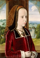 Margaret of Austria painting reproduction, Jean Hey