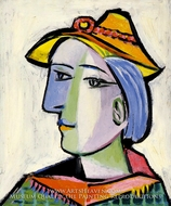Marie-Therese Walter au Chapeau by Pablo Picasso (inspired by)