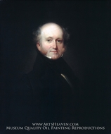 Martin Van Buren painting reproduction, Henry Inman