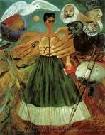 Marxim Will Give Health to the Sick painting reproduction, Frida Kahlo