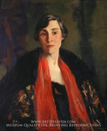 Mary Fanton Roberts by Robert Henri