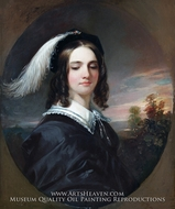 Mary Inman painting reproduction, Daniel Huntington