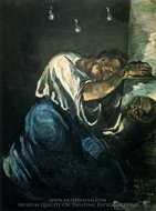 Mary Magdalene painting reproduction, Paul Cezanne