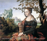 Mary Magdalene painting reproduction, Jan Van Scorel