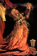 Mary Magdalene from Isenheim Altarpiece by Matthias Grunewald