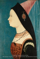 Mary of Burgundy by Hans Memling
