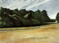Mass of Trees at Eastham painting reproduction, Edward Hopper
