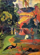 Matamoe (Landscape with Peacocks) by Paul Gauguin