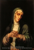 Mater Dolorosa painting reproduction, Luis De Morales